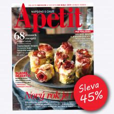 Roční předplatné Apetit se slevou 45% + 2x speciál Apetit Veggie! 2019