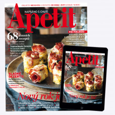 Roční Kombinované předplatné (PAPÍR + DIGI) + 2x speciál Apetit Veggie! 2019
