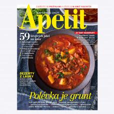 Aktuální vydání  Apetit 2/2019 (poštovné zdarma)