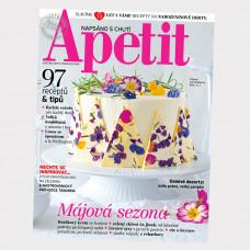 Aktuální vydání  Apetit 5/2019 (poštovné zdarma)