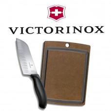 Roční předplatné Apetit + sada Victorinox (nůž + prkénko)