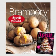 Roční předplatné Apetit + Miniedice kuchařka Brambory