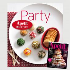 Roční předplatné Apetit + Miniedice kuchařka Párty