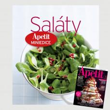 Roční předplatné Apetit + Miniedice kuchařka Saláty