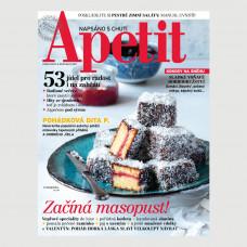 Aktuální vydání  Apetit 2/2020 (poštovné zdarma)