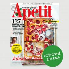 Aktuální vydání Apetit 6/2020 POŠTOVNÉ ZDARMA (pouze pro ČR)
