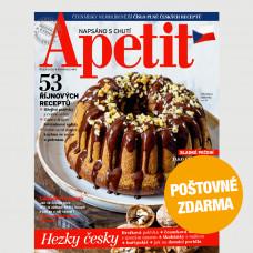 Aktuální vydání Apetit 10/2020 POŠTOVNÉ ZDARMA (pouze pro ČR)