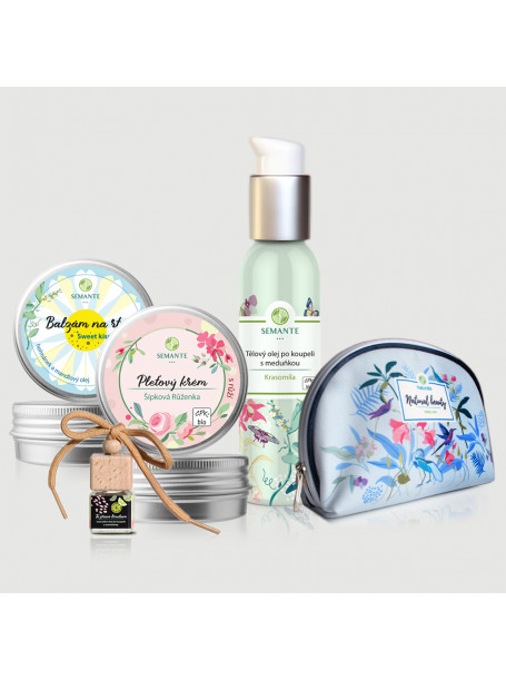 Roční předplatné Apetit + kosmetika Semante by Naturalis