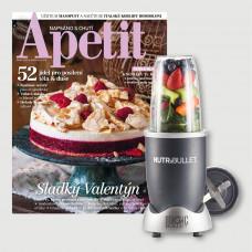 Roční předplatné Apetit + Nutribullet Delimano