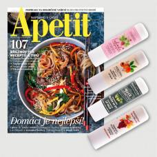 Aktuální vydání Apetit 3/2021 + balzám na rty Manufaktura POŠTOVNÉ ZDARMA (pouze pro ČR)