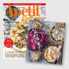 Roční  předplatné Apetit + Kuchařka Pomazánky
