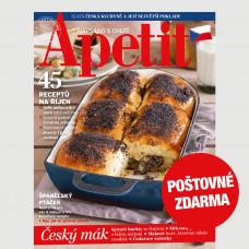 Aktuální vydání Apetit 10/2021 POŠTOVNÉ ZDARMA (pouze pro ČR)