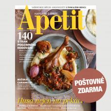 Aktuální vydání Apetit 11/2021 POŠTOVNÉ ZDARMA (pouze pro ČR)