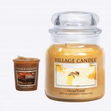 Roční předplatné Apetit + sada svíček Village Candle (2ks)